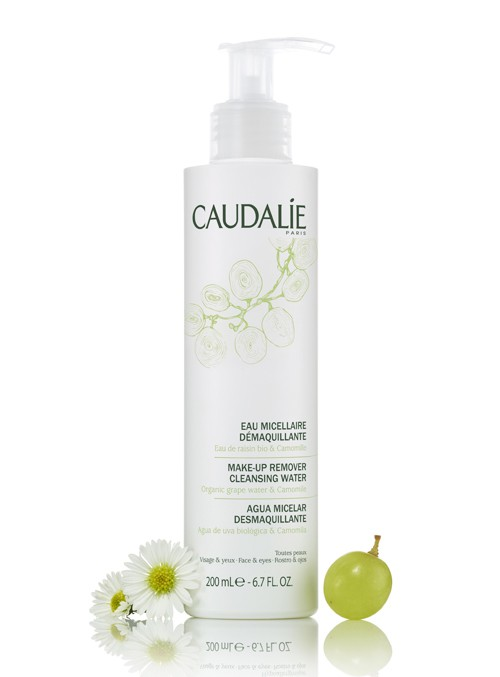 Caudalie Make up Remover Cleansing Water, Λοσιόν Ντεμακιγιάζ Προσώπου & Ματιών, 200ml