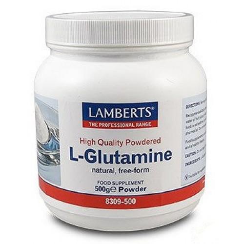 Lamberts L-Glutamine Powder Γλουταμίνη σε Σκόνη 500g