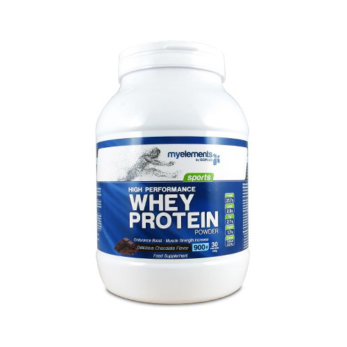 My Elements High Performance Whey Protein Chocolate Πρωτεΐνη από 100% Ορό Γάλακτος Σοκολάτα 900gr