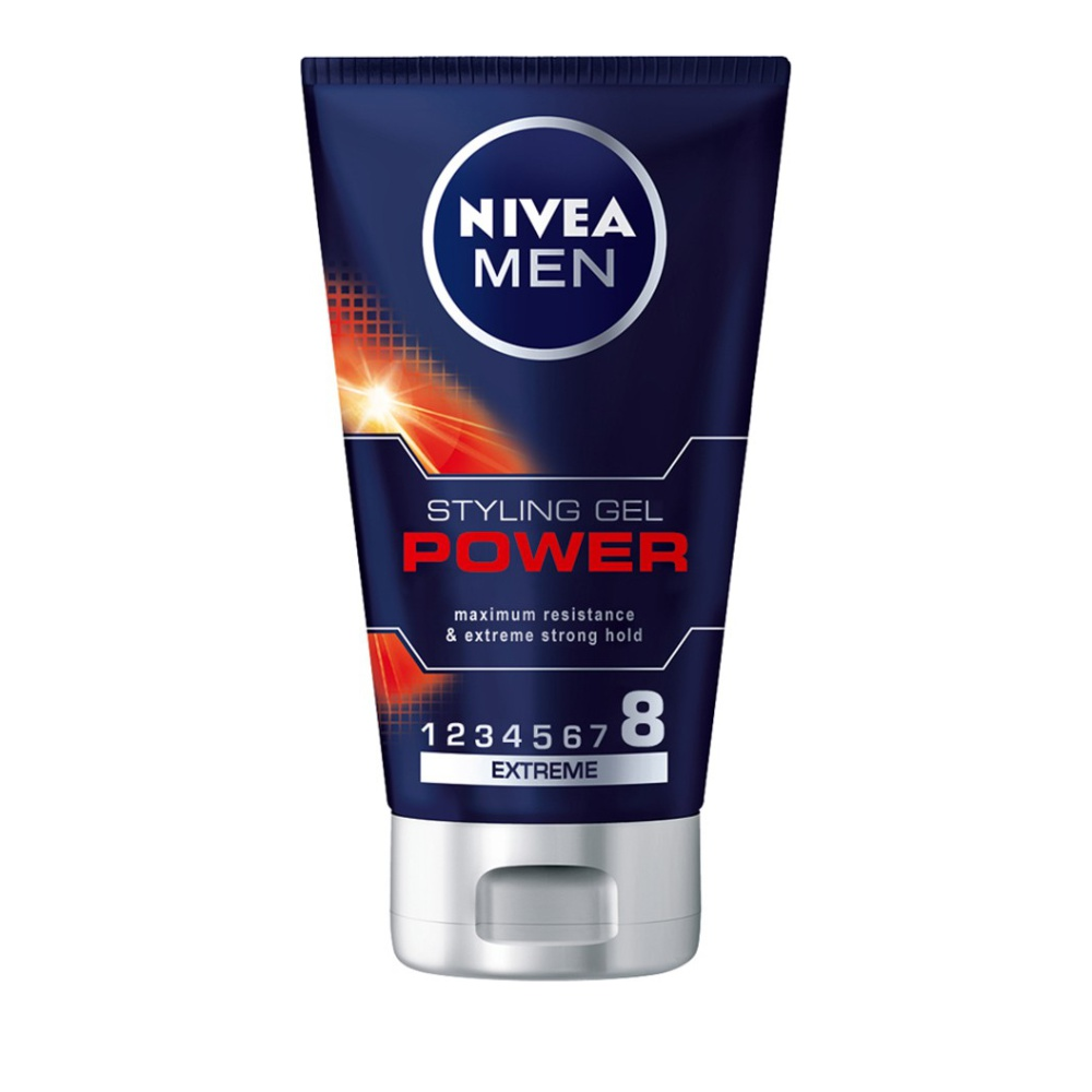 Nivea Men Hair Styling Gel Power, Τζελ για Extreme Κράτημα 150ml