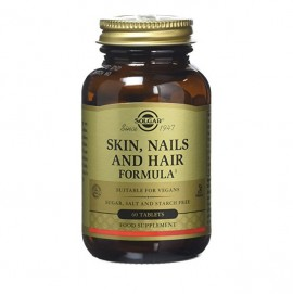 Solgar Skin, Nails & Hair Ολοκληρωμένη Φόρμουλα για Δέρμα, Νύχια & Μαλλιά 60 Tablets