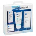 Panthenol Extra Promo με 4 Προϊόντα, Καθαρισμός, Ενυδάτωση Προσώπου & Ματιών, Κρέμα Σώματος