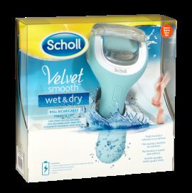 Scholl Velvet Smooth Wet & Dry Επαναφορτιζόμενη Αδιάβροχη Λίμα Ποδιών
