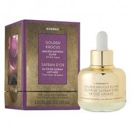Korres Golden Krocus Safran D'OR Elixir Anti-Age, Χρυσός Κρόκος Κοζάνης, Ελιξίριο Νεότητας, Ομορφιάς, Αντιγήρανσης 30ml
