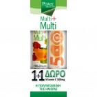 Power Health 1+1, Multi+Multi Πολυβιταμίνες 24 Αναβρ.Δισκία & ΔΩΡΟ Vitamin C 500mg 20 Αναβρ.Δισκία