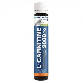My Elements L-Carnitine 2000mg Υγρή Καρνιτίνη με Γεύση Πορτοκάλι 20ml