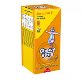 Chewy Vites Jelly Bears Vitamin C 60 Μασώμενα Ζελεδάκια