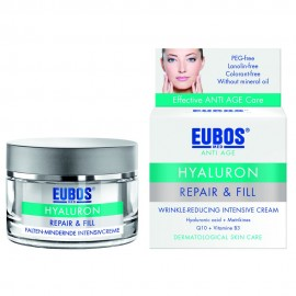 Eubos Hyaluron Repair & Fill Winkle Reducing Intensive Cream, Αντιρυτιδική/Ενυδατική Κρέμα 50ml