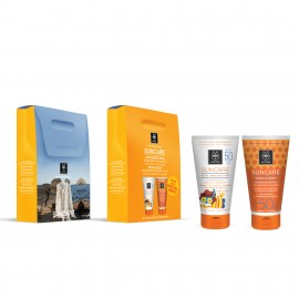 Apivita Promo Suncare Family Pack, Kids Protection SPF50 150ml & Face/Body Milk SPF30 150ml