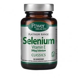 Power Health Platinum Range Selenium & Vitamin E 30 Caps