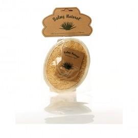 Balmy Naturel Loofah Face & Body Pad, Μασάζ Προσώπου-Σώματος Στρογγυλό
