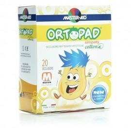 Master Aid Ortopad Medium Simpaty, Παιδικά Οφθαλμικά Αυτοκόλλητα 76x54mm 20τμχ, 2-4 Ετών