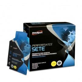 EthicSport Performance Sete (Lemon), Διατηρεί τα Αποθέματα Ηλεκτρολυτών, Υδατανθράκων & Νερού, 14 Sachets
