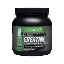 Lamberts Creatine Performance Powder Κρεατίνη σε Σκόνη 500gr