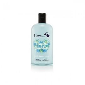 I love Bubble Bath & Shower Creme, Αφρόλουτρο Tropical Paradise  500ml