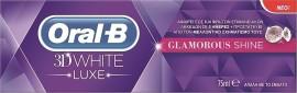Oral-B 3D White Lux Glamorous Shine Λευκαντική Οδοντόκρεμα 75ml