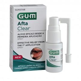 Gum Aftaclear Spray (2420), Στοματικό Σπρέι για Άφθες 15ml