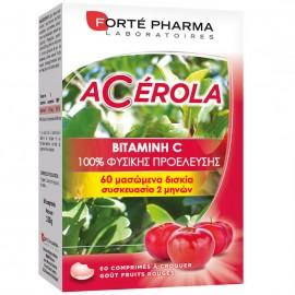 Forte Pharma Energie Acerola, Ενέργεια - Τόνωση - Κρυολόγημα, 60caps