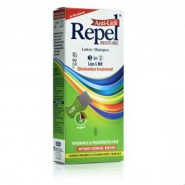 Repel Anti-Lice Restore Lotion/Shampoo, Αντιφθειρικό Σαμπουάν-Λοσιόν 200ml