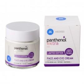 Panthenol Extra Limited Edition Πρόσωπο & Μάτια, 24ωρη Αντιρυτιδική Κρέμα με Υαλουρονικό 100ml