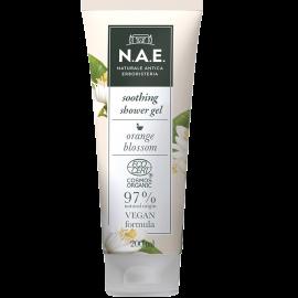 N.A.E Απαλό Αφροντούζ για ευαίσθητη επιδερμίδα με διακριτικό άρωμα, Οργανική Πιστοποίηση COSMOS  & Vegan φόρμουλα, 200ml