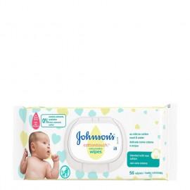 Johnsons Baby Μωρομάντηλα Cottontouch™ 56τμχ