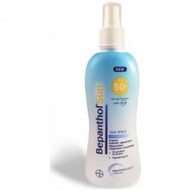Bepanthol Sun Lotion Spray Sensitive Skin SPF50, Αντηλιακό Σπρέι Προσώπου/Σώματος 200ml