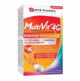 Forte Pharma MultiVit 4G 4gr 30 Αναβράζοντα Δισκία