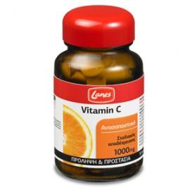 Lanes Βιταμίνη C 1000mg με βιοφλαβονοειδή 30 ταμπλέτες - Πρόληψη Κρυολογήματος