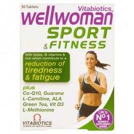 Vitabiotics Wellwoman Sport & Fitness, Μέγιστη Ενέργεια & Επιδόσεις 30Tabs