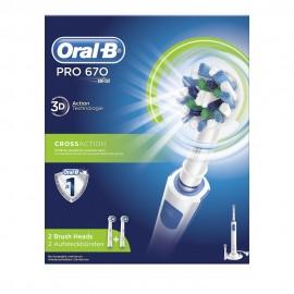 Oral-B PRO 670, Επαναφορτιζόμενη Ηλεκτρική Οδοντόβουρτσα