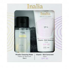 Inalia Promo Vitamin Rich Sunscreen Cream Face SPF30 Αντηλιακή Κρέμα Προσώπου 50ml & ΔΩΡΟ Micellar Cleansing Water 50ml