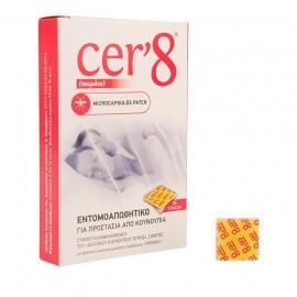 Vican Cer8 Εντομοαπωθητικά Τσερότα 24τμχ