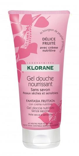 Klorane Gel Douche Nourrissant Fantasia Fruttata, Αφρόλουτρο Φρουτώδης Απόλαυση 200ml