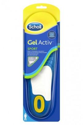 Scholl Gel Activ Sport Ανδρικοί Ανατομικοί Πάτοι (Νο 42-48)