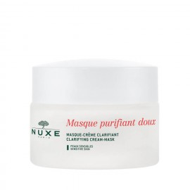 Nuxe Gentle Purifying And Clarifying Mask With 3 Roses, Μάσκα Καθαρισμού Προσ.-Λαιμού,Όλους τους Τύπους, 50ml