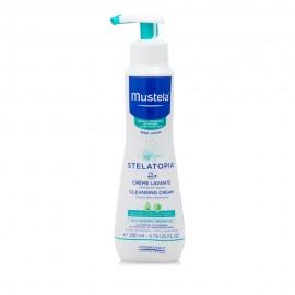 Mustela Stelatopia Cleansing Cream Κρεμώδες Αφροντούς για Βρεφική-Παιδική Ατοπική Δερματίτιδα 200ml