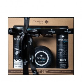 Messinian Spa Black Truffle Shower Gel 300ml & Shampoo 300ml & Hand and Body Cream 250ml