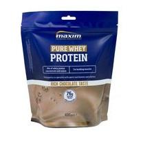 Maxim Pure Whey Protein Καθαρή Πρωτεΐνη Ορού Γάλακτος με Γεύση Σοκολάτα 400gr
