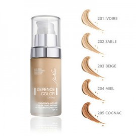 BioNike Defence Color Lifting N.205 Cognac, Font De Teint, Αντιρυτιδικό Make Up με Lifting, SPF15, 30ml