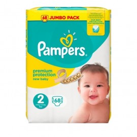 Pampers New Baby Mini No2 (3-6 Kg), 68τμχ