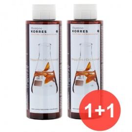 Korres Ηλιανθος & Τσαϊ Του Βουνου  Σαμπουάν Για Βαμμένα Μαλλιά 1+1 Δωρο 250 ml