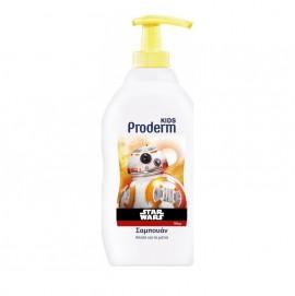 Proderm Kids Star Wars Shampoo, Σαμπουάν 3 Ετών+ για Αγόρια 400ml -1,5 Ευρώ