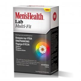 Omega Pharma Menshealth Lab Multi-Fit, Πολυβιταμίνη 60κάψουλες