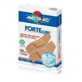 Master Aid Forte Med, Αυτοκόλλητοι ΜικροεπίδεσμοΙ Στενοί & Φαρδιοί, 20τμχ.