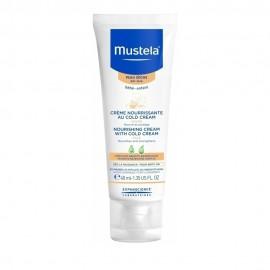 Mustela Nourishing Cream with Cold Cream, Θρεπτική Κρέμα με Cold Cream για το Πρόσωπο 40ml