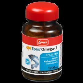 Lanes Epax Omega - 3 ( EPA & DHA) 1200mg, Καρδιά, Εγκέφαλος, Ενίσχυση Μνήμης 30 caps