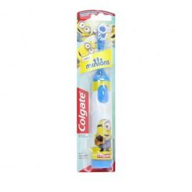 Colgate Minions Παιδική Ηλεκτρική Οδοντόβουρτσα Μπλε Πολύ Μαλακή 1τμχ