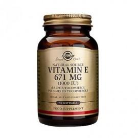 Solgar Vitamin E 671mg(1000IU) 50 softgels