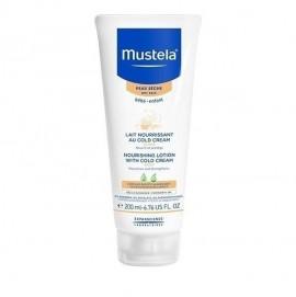 Mustela Nourishing Lotion With Cold Cream Βρεφικό-Παιδικό Γαλάκτωμα Σώματος για Ξηρό Δέρμα 200ml